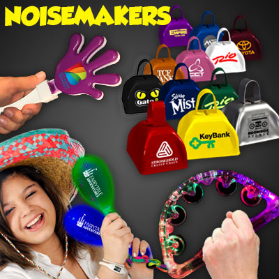Cowbells, Clappers, Maracas & Noise Makers