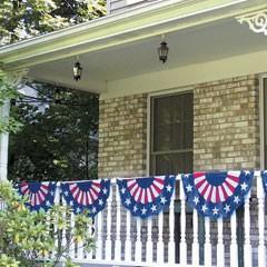Patriotic Bunting  Garland Decoration