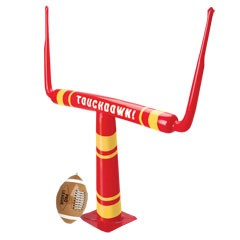 Inflatable Football and Goal Post