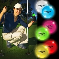 Multi-Color Night Golf Balls Variety of Colors