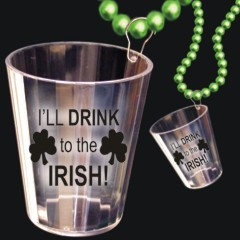 Irish Shot Glass Beads