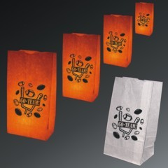 Football Theme Luminary Bags - 50 Pack