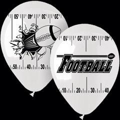 Football Theme Latex Balloons