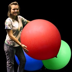 Red Jumbo Balloon - 36 Inch