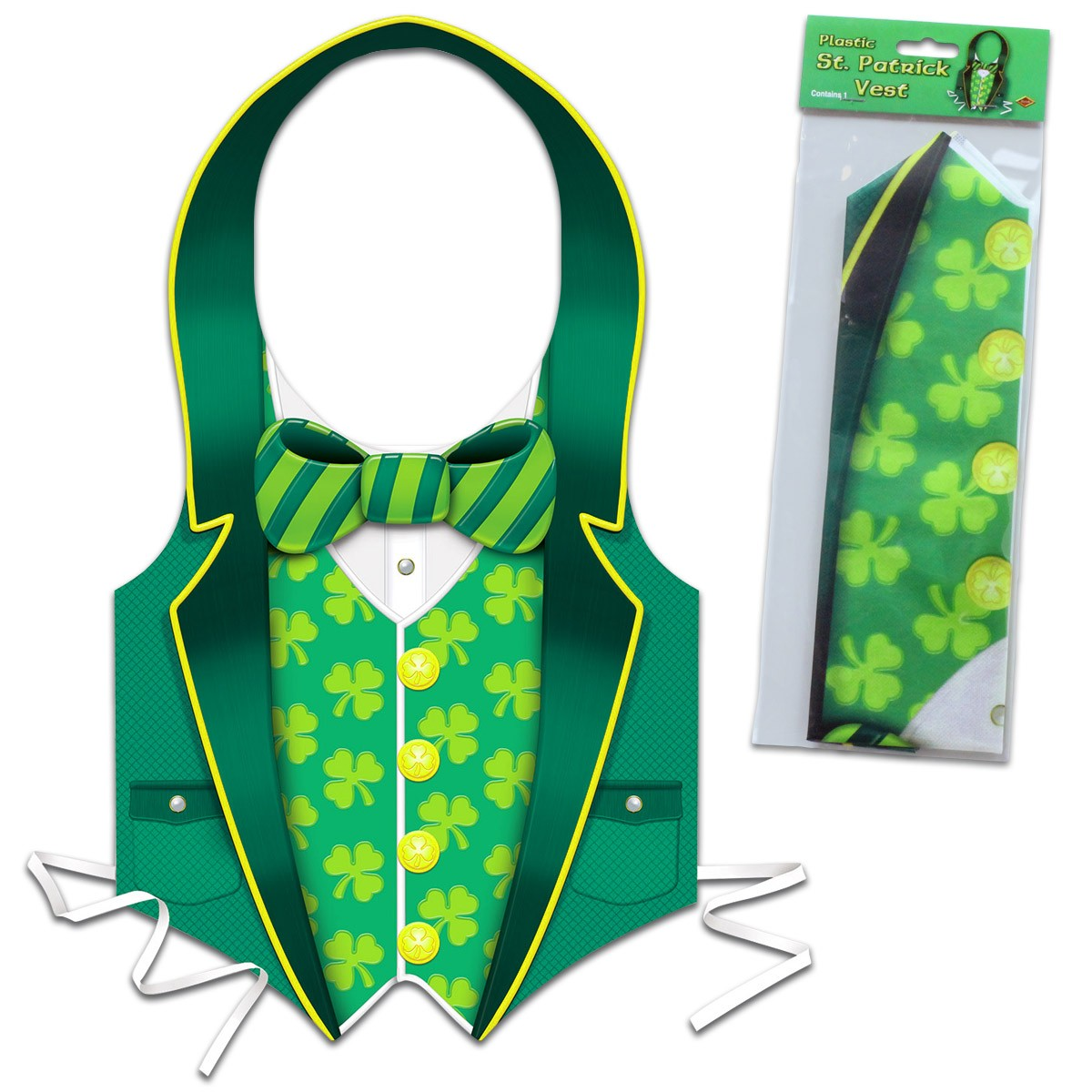 Shamrock St. Patrick's Day Vest
