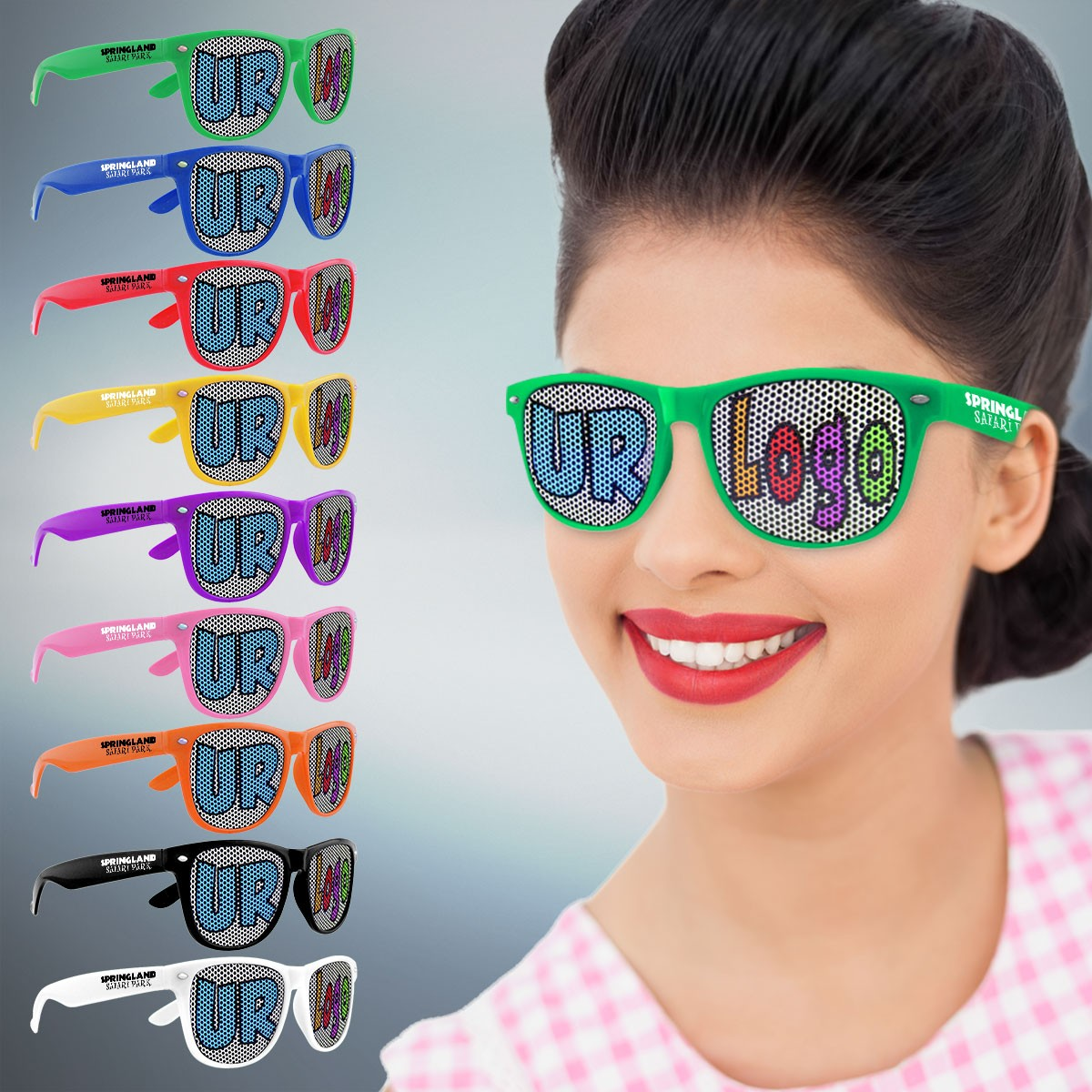 custom classic retro billboard sunglasses sunglasses