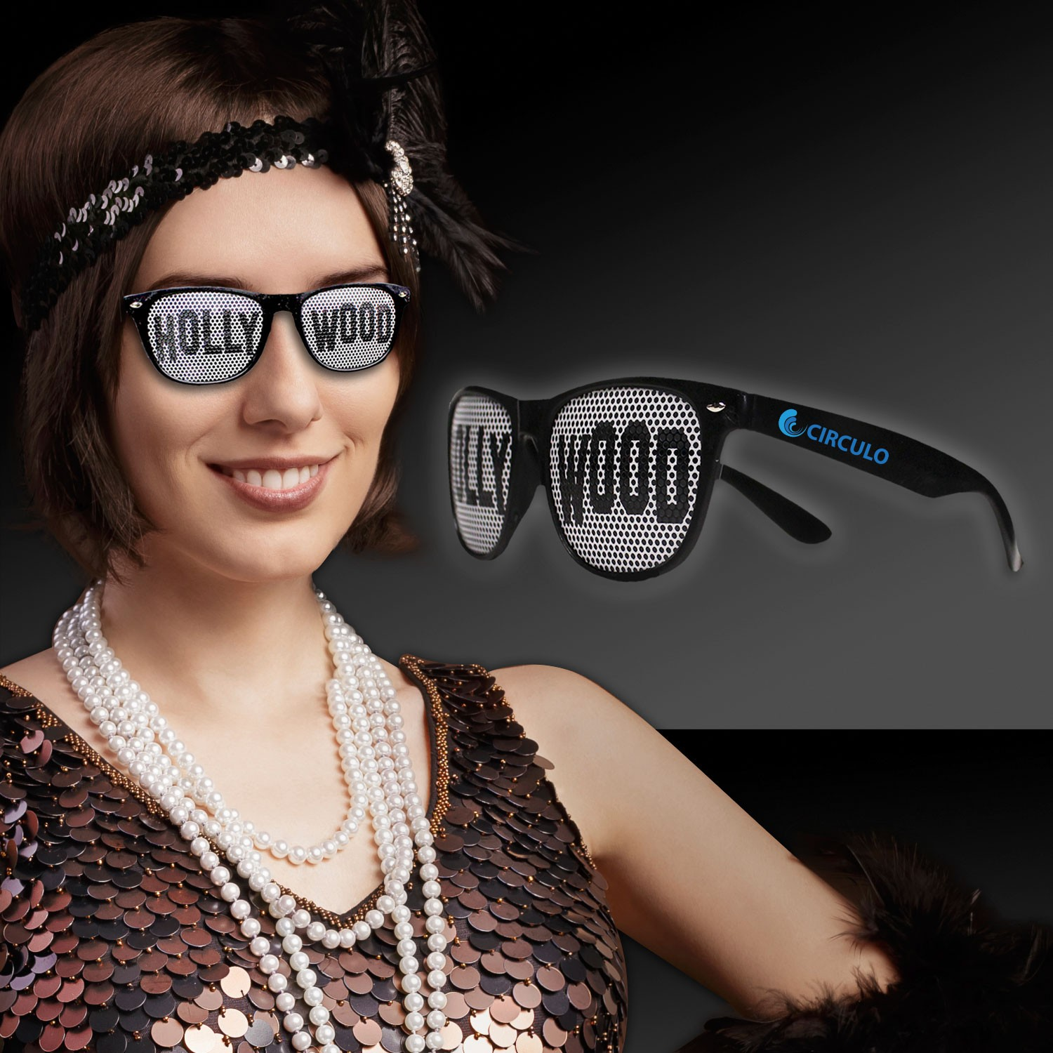 Hollywood Billboard Sunglasses