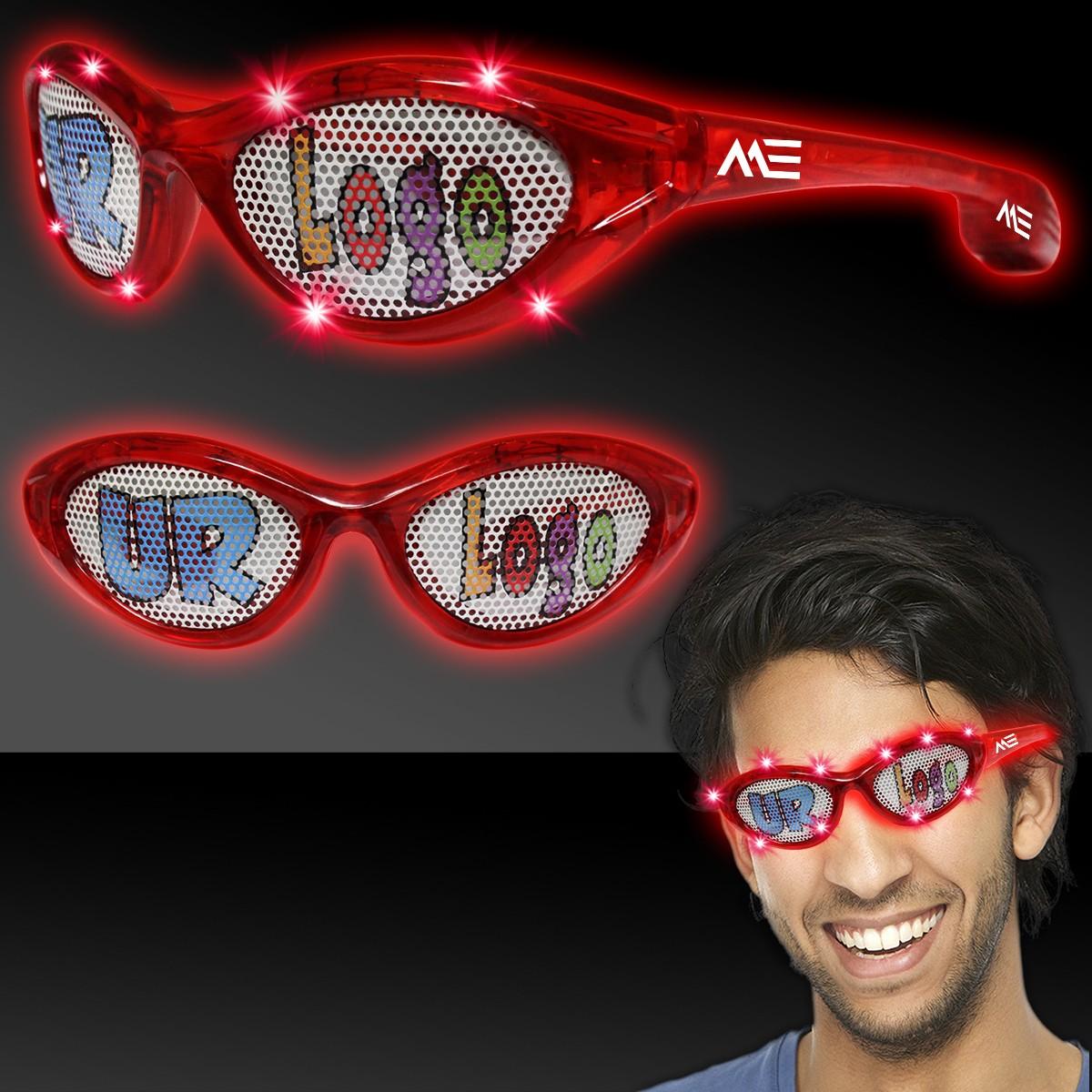 Red LED Billboard Sunglasses