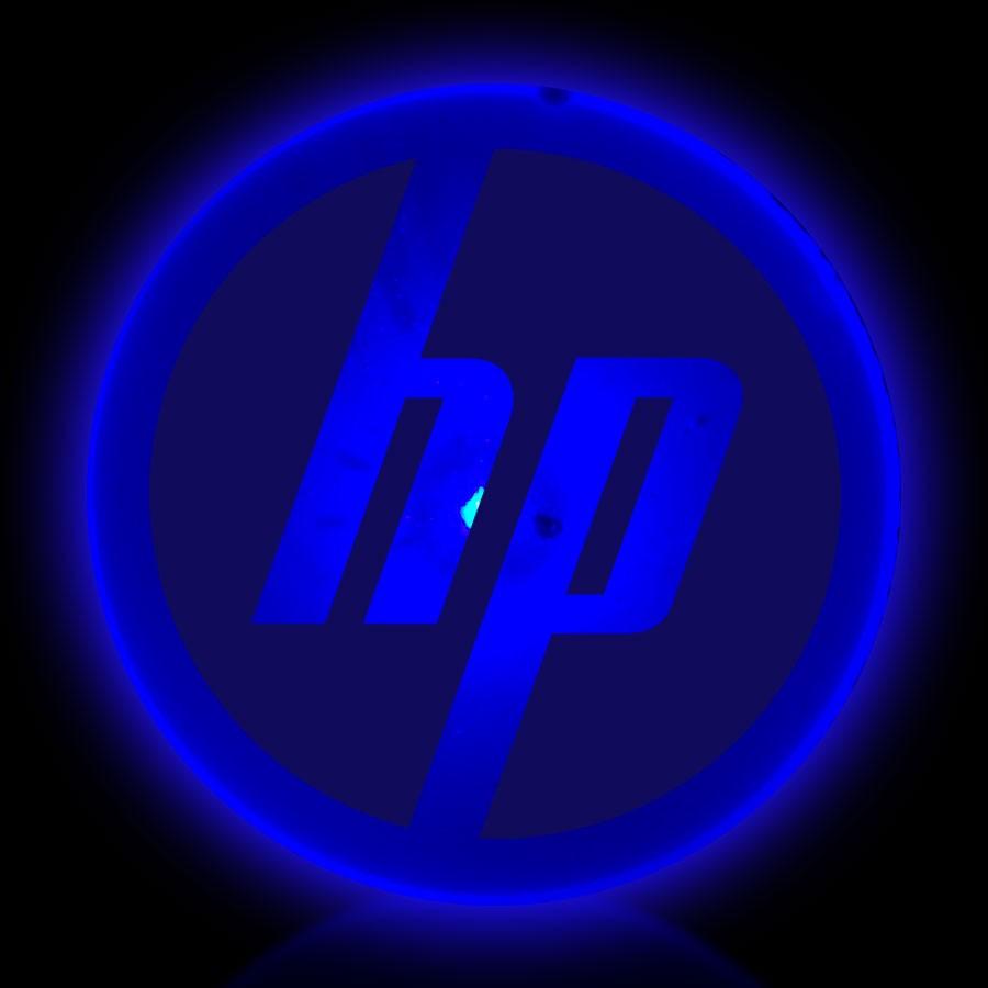Flashing Blue Circle LED Blinkies
