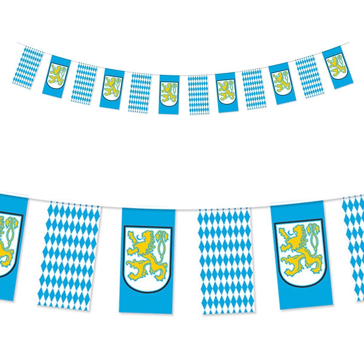 Bavarian Lion Oktoberfest Pennant Banner