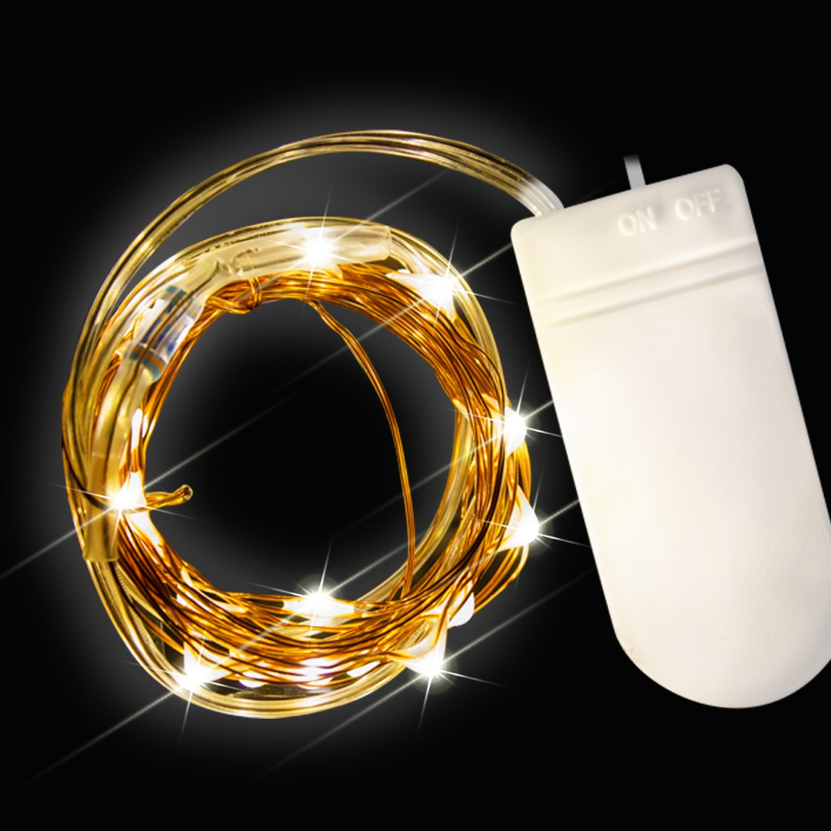 White Led String Lights Party Decorations