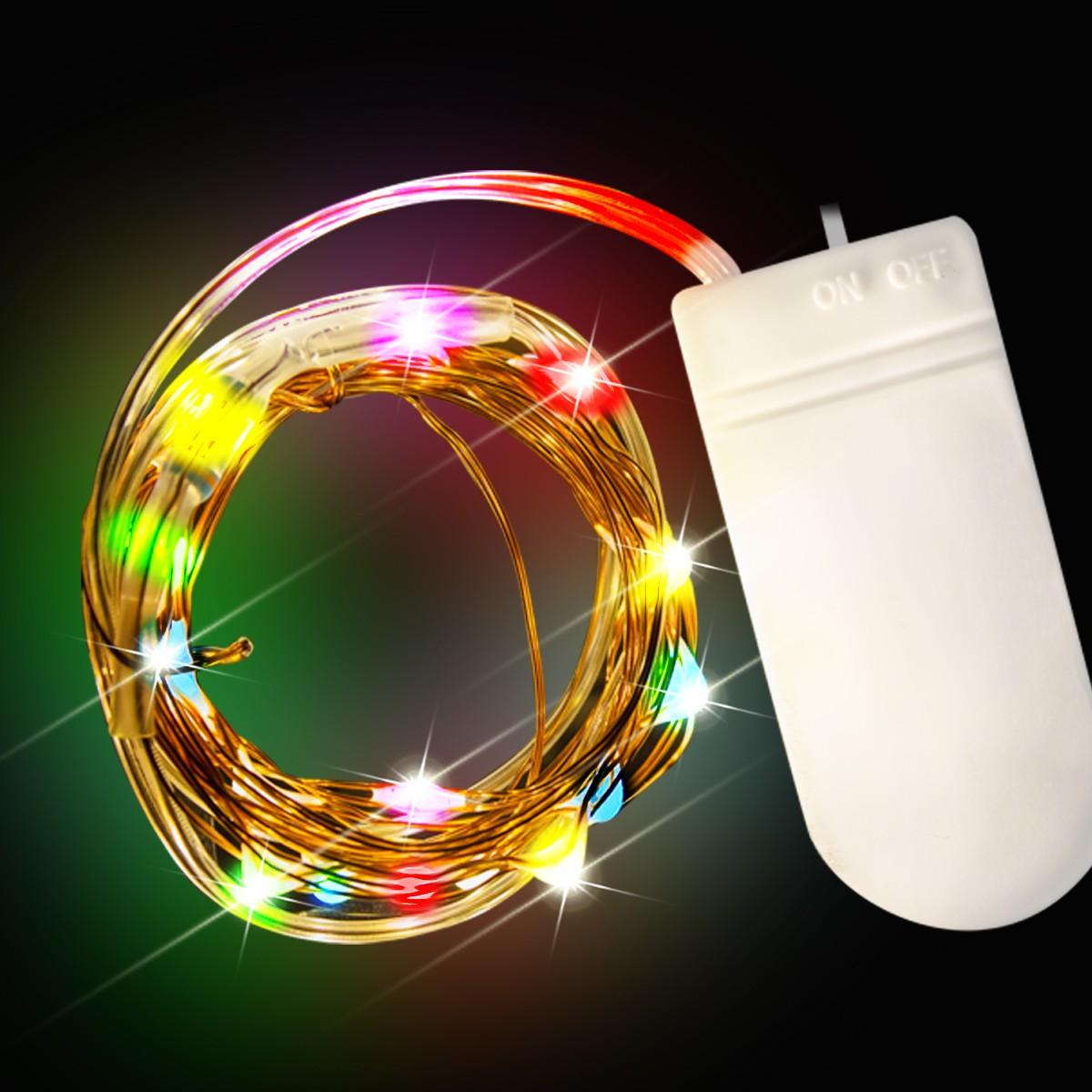 Multi Color Led String Lights Light Up Novelties