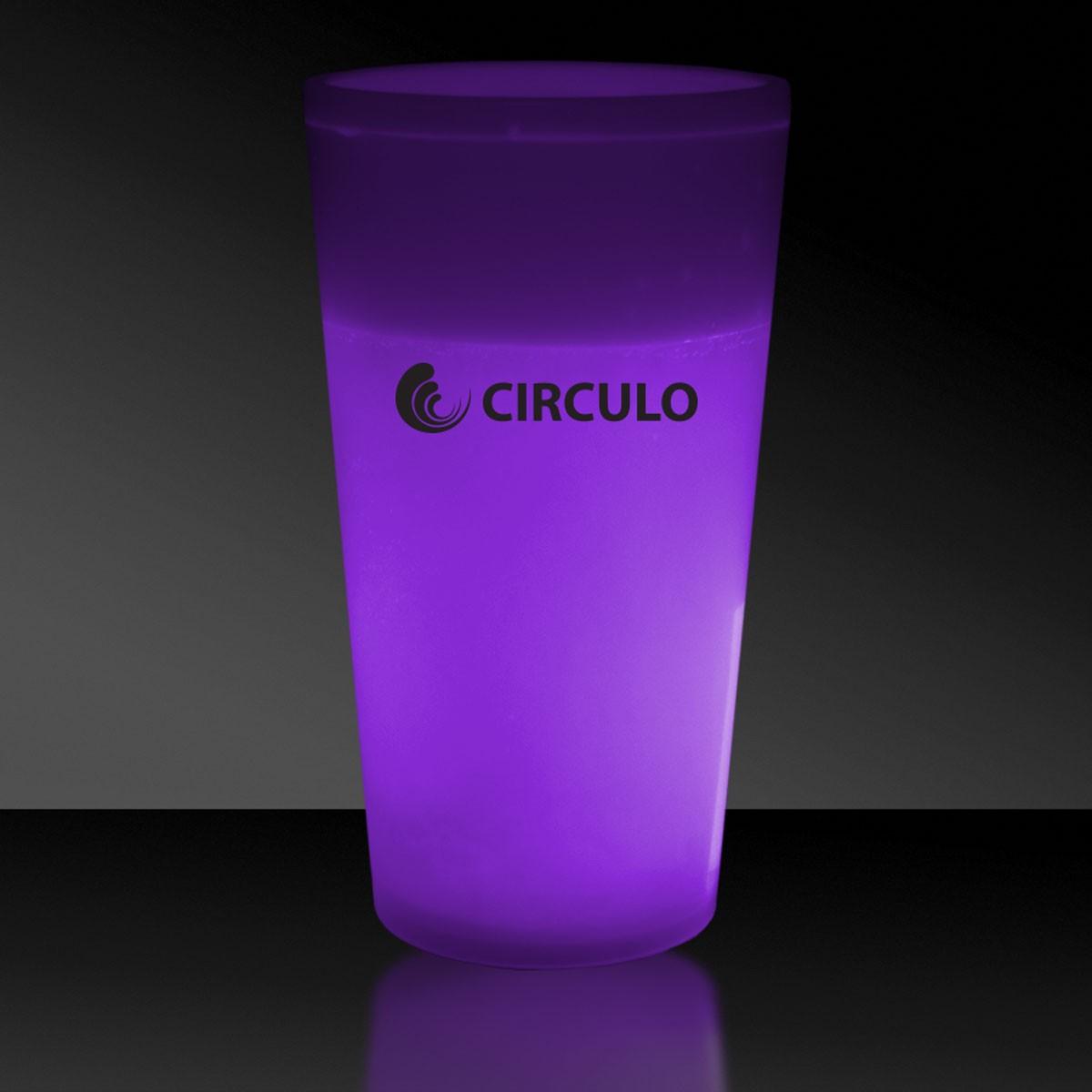 Purple 12 Ounce Glow Cups