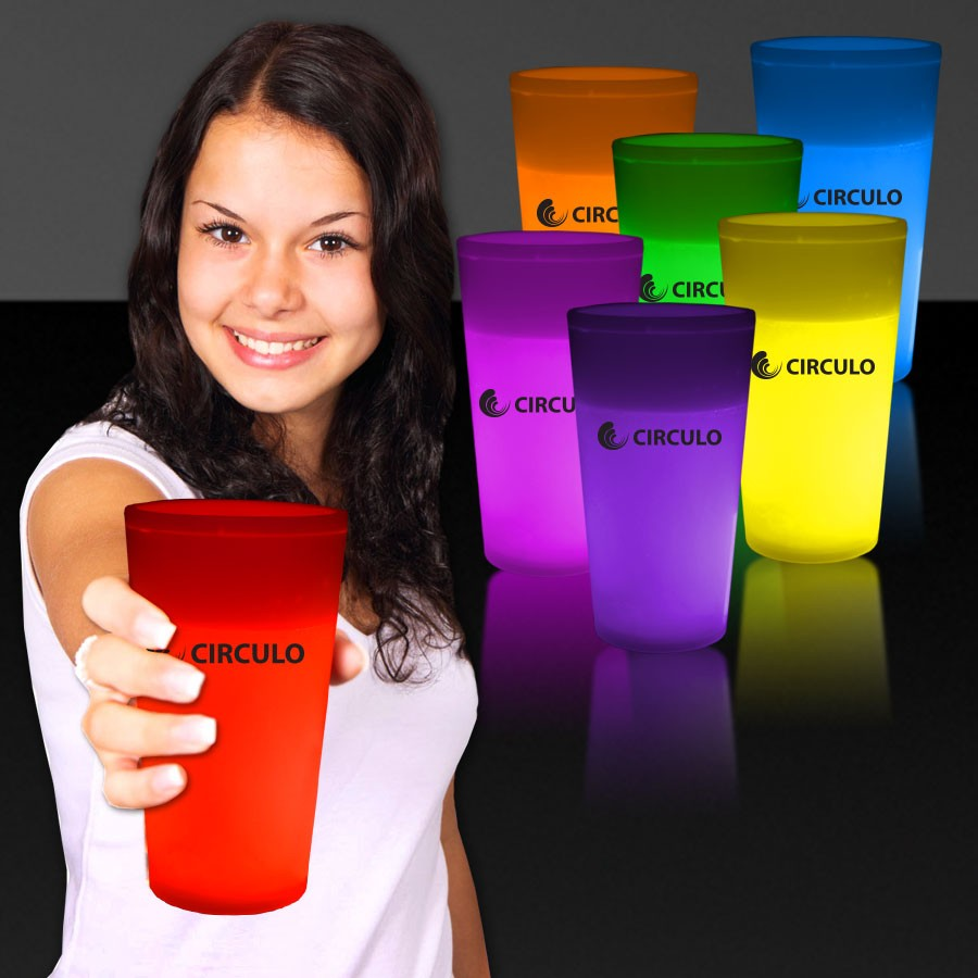 12 Ounce Glow Cups