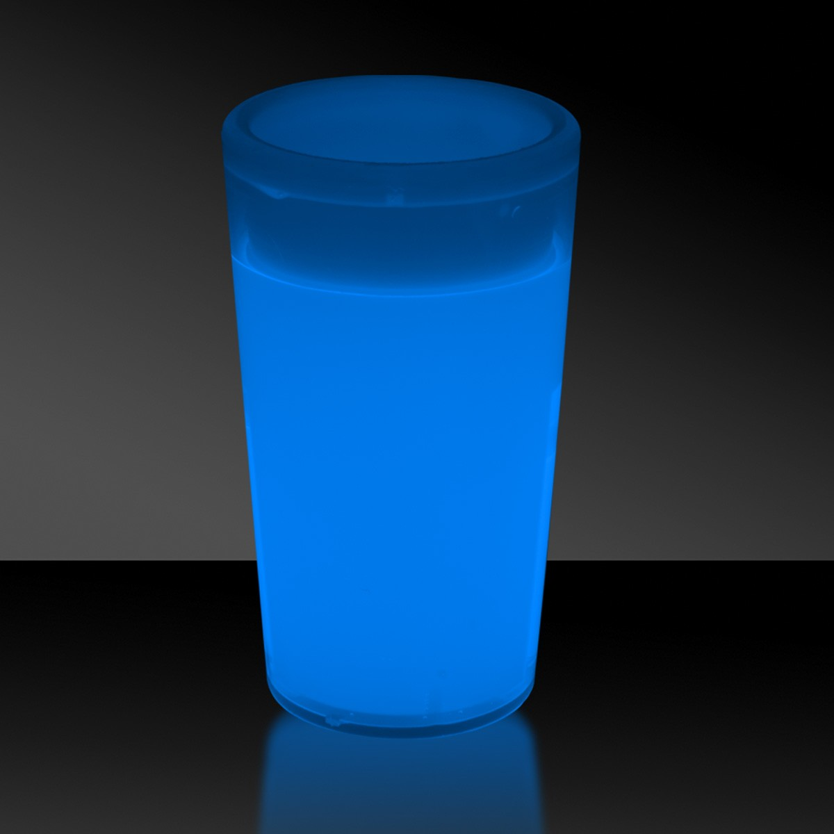 Blue 2 Ounce Glow Shot Glass Blue Shop By Color
