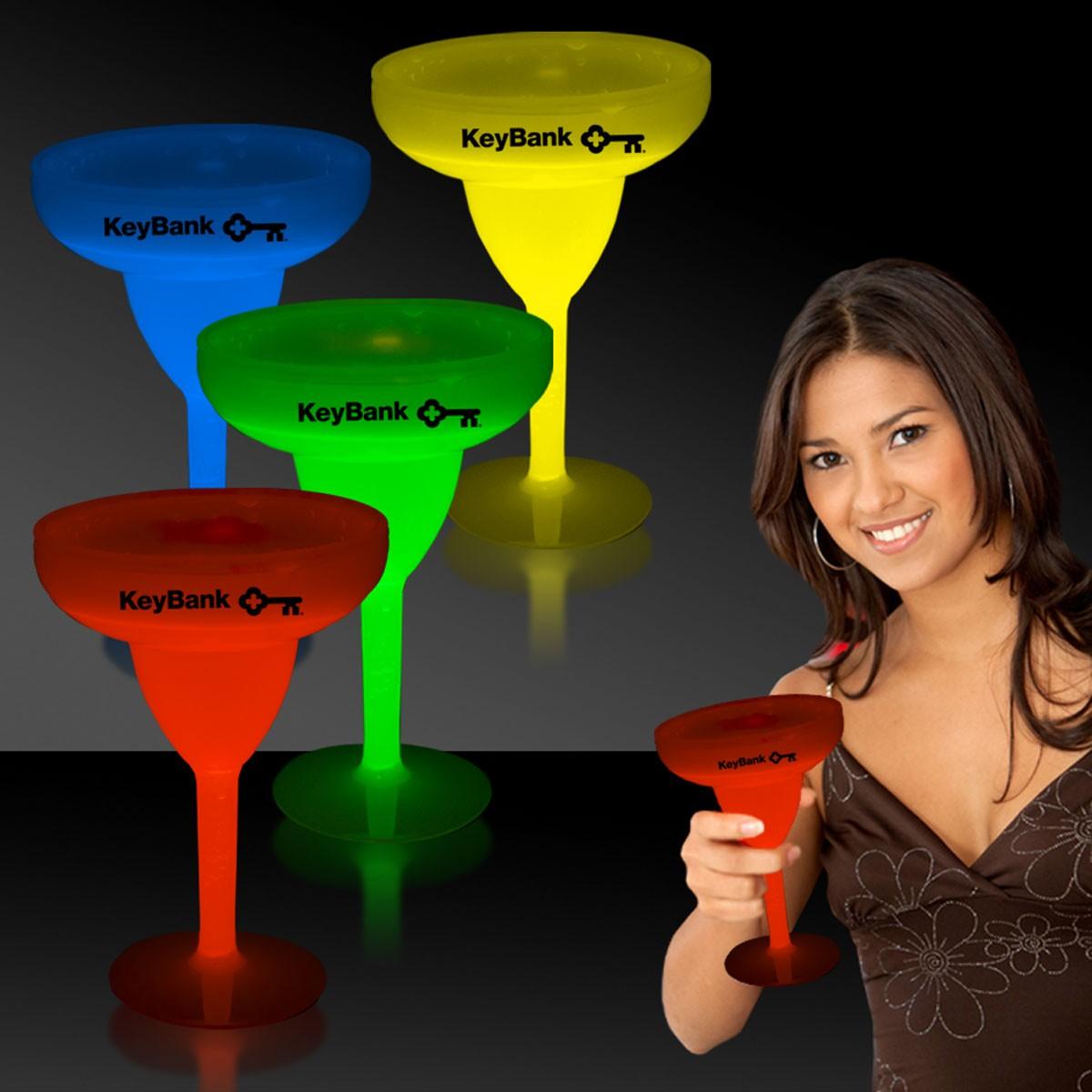 Glow Margarita Glasses