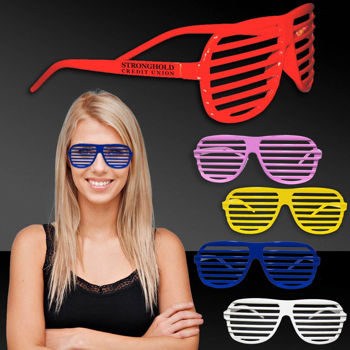 Shutter Shades - Assorted Colors