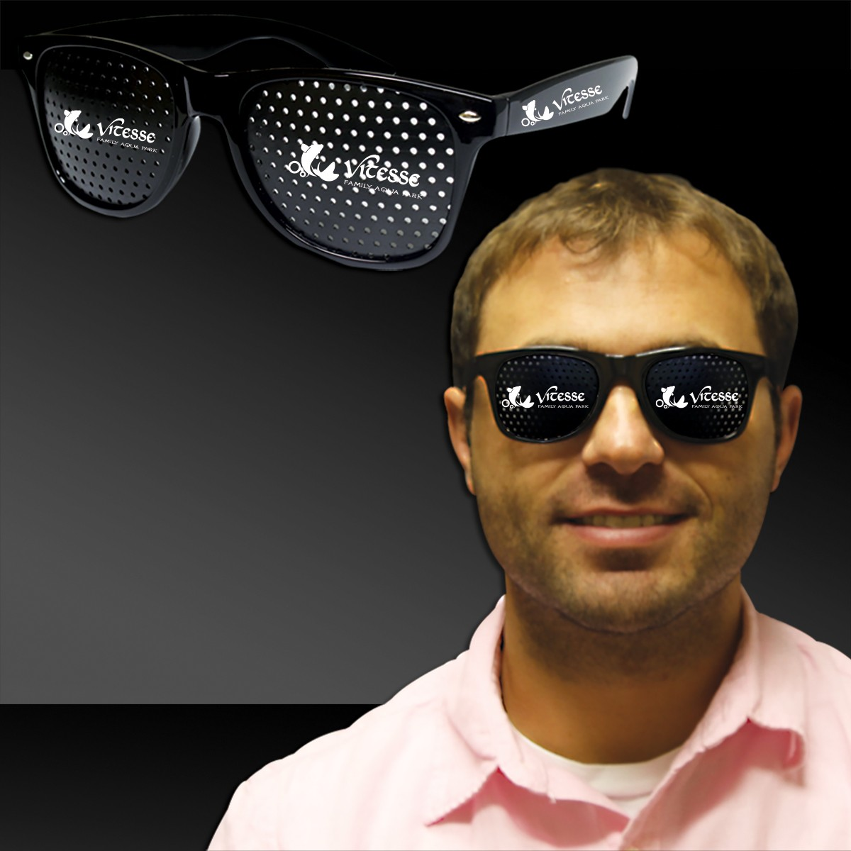 Black Billboard Sunglasses