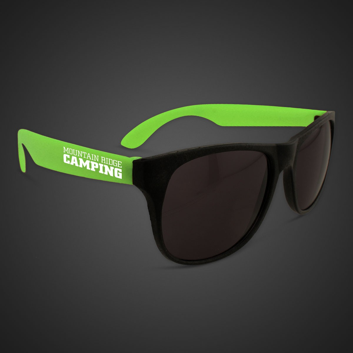 Green Neon Sunglasses