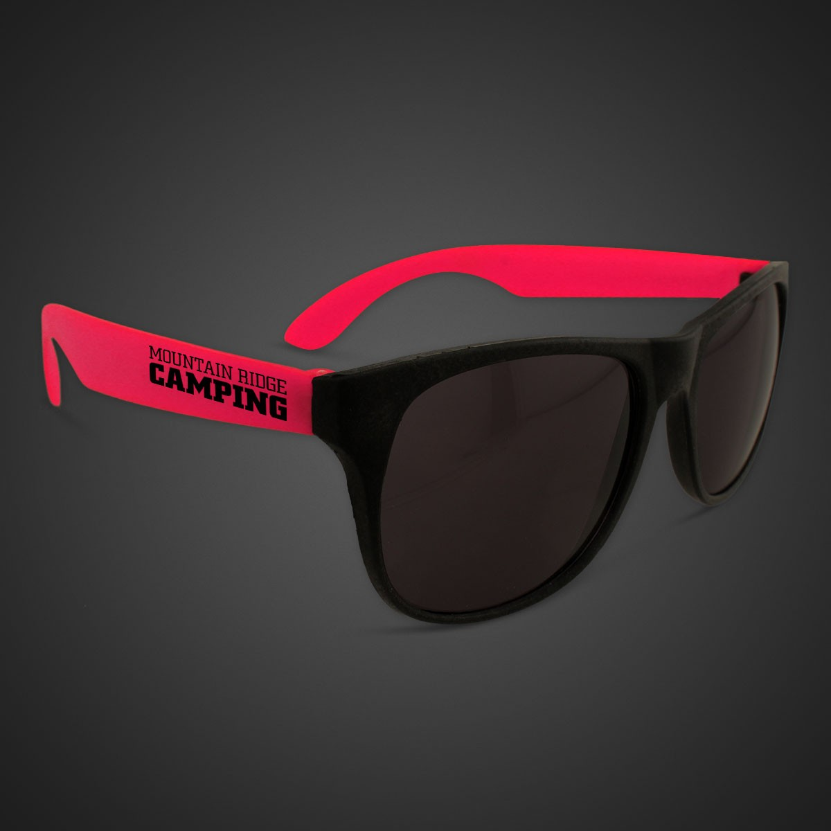 Red Neon Sunglasses
