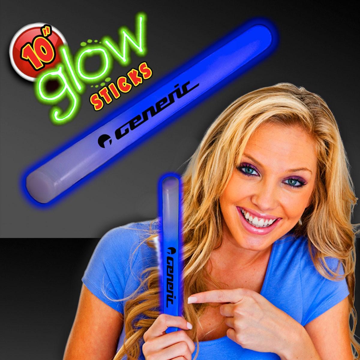 Blue 10 Inch Glow Sticks