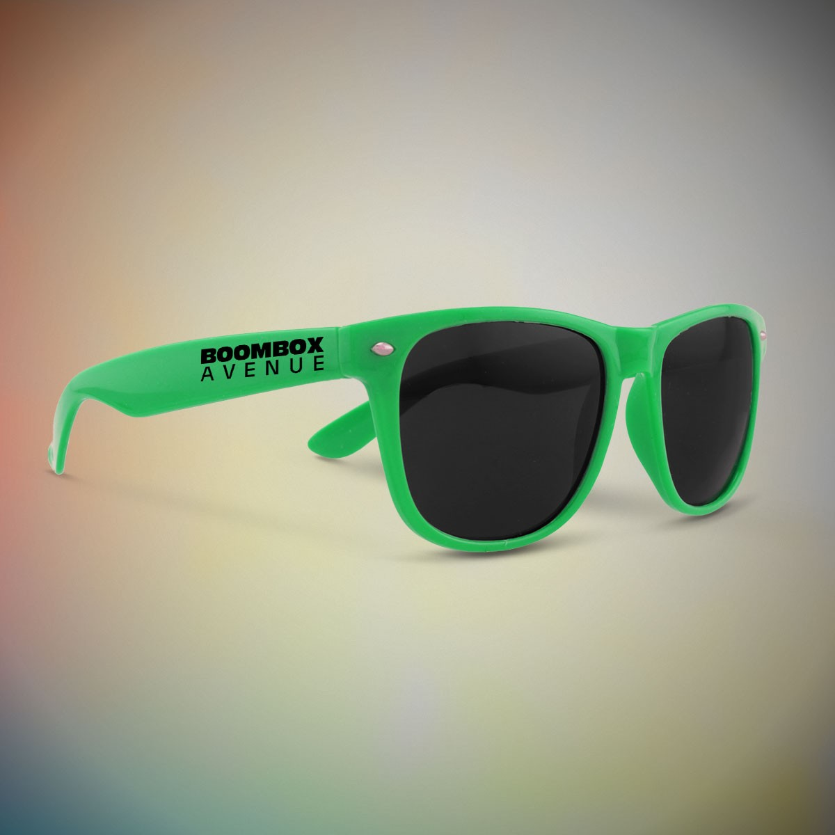 Premium Green Classic Retro Sunglasses