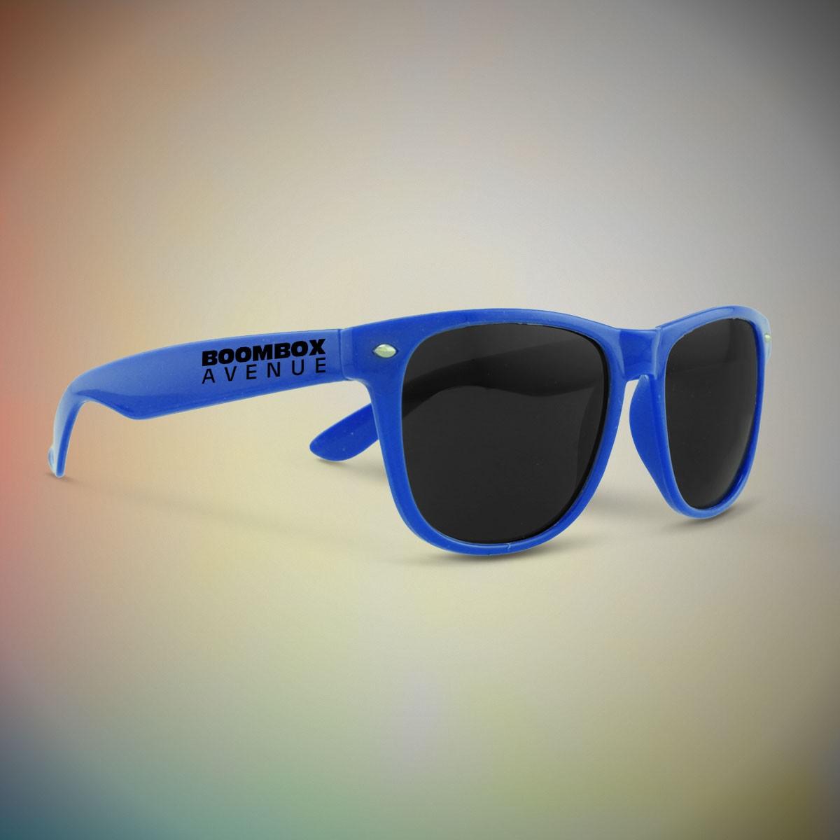 Premium Blue Classic Retro Sunglasses