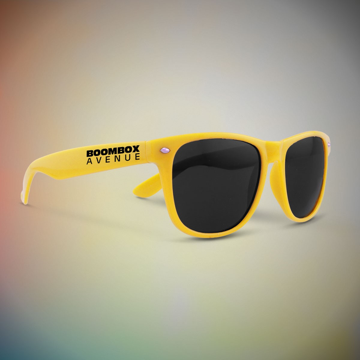Premium Yellow Classic Retro Sunglasses