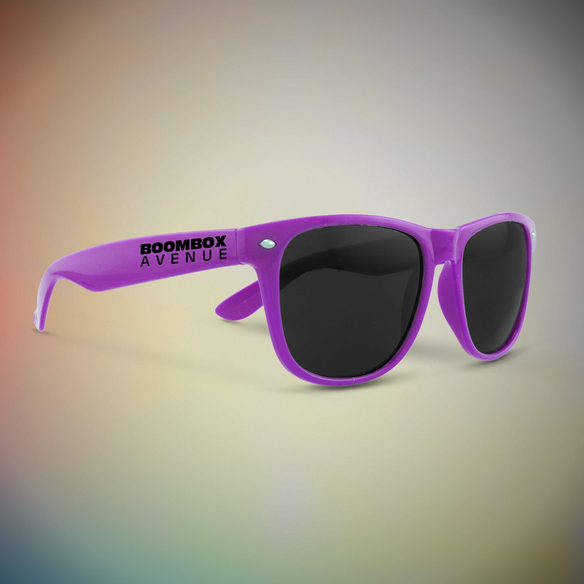 Premium Purple Classic Retro Sunglasses
