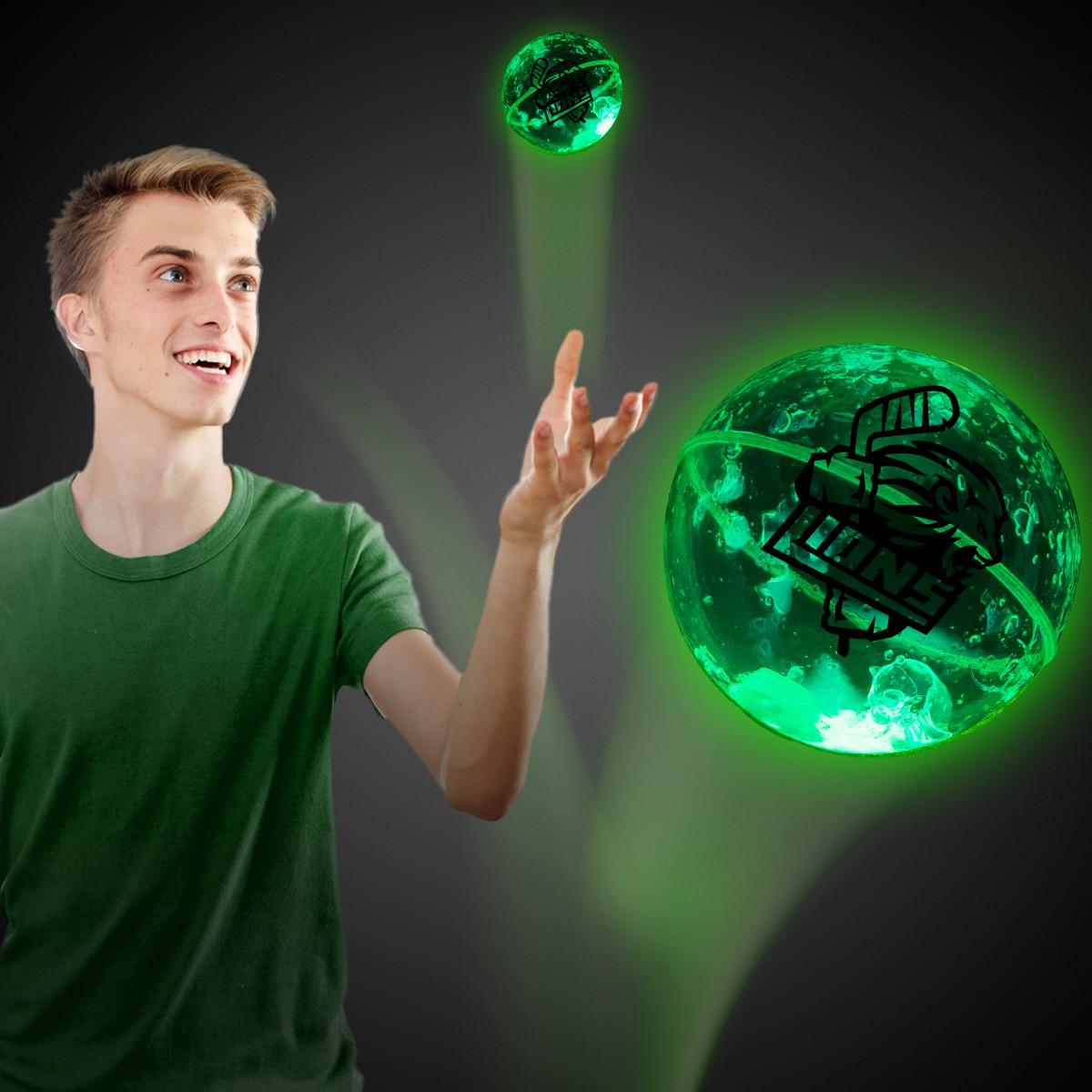 Green Glow Bounce Ball