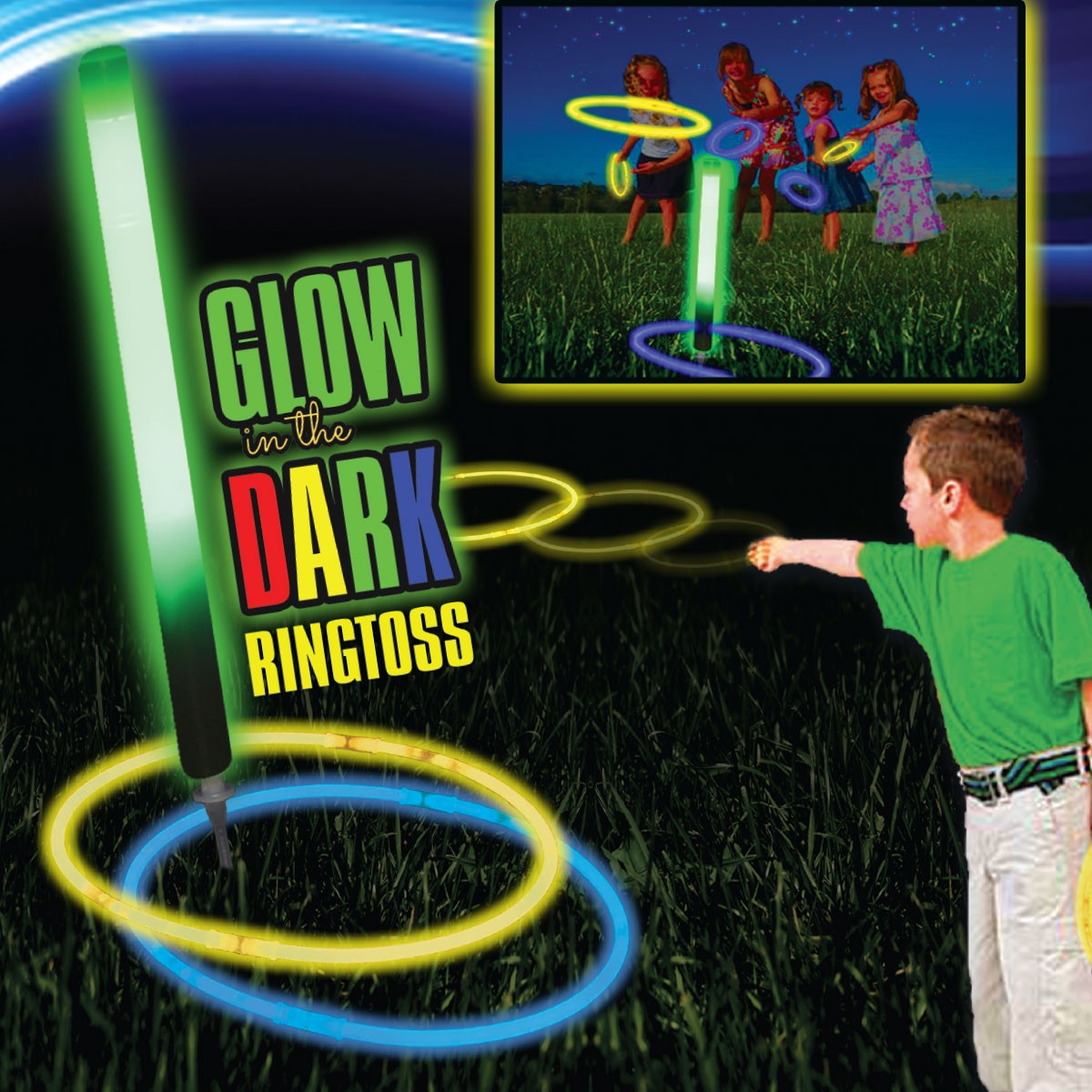 Glow Ring Toss Game