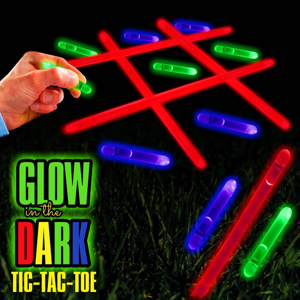 Glow In the Dark TIc Tac Toe Game