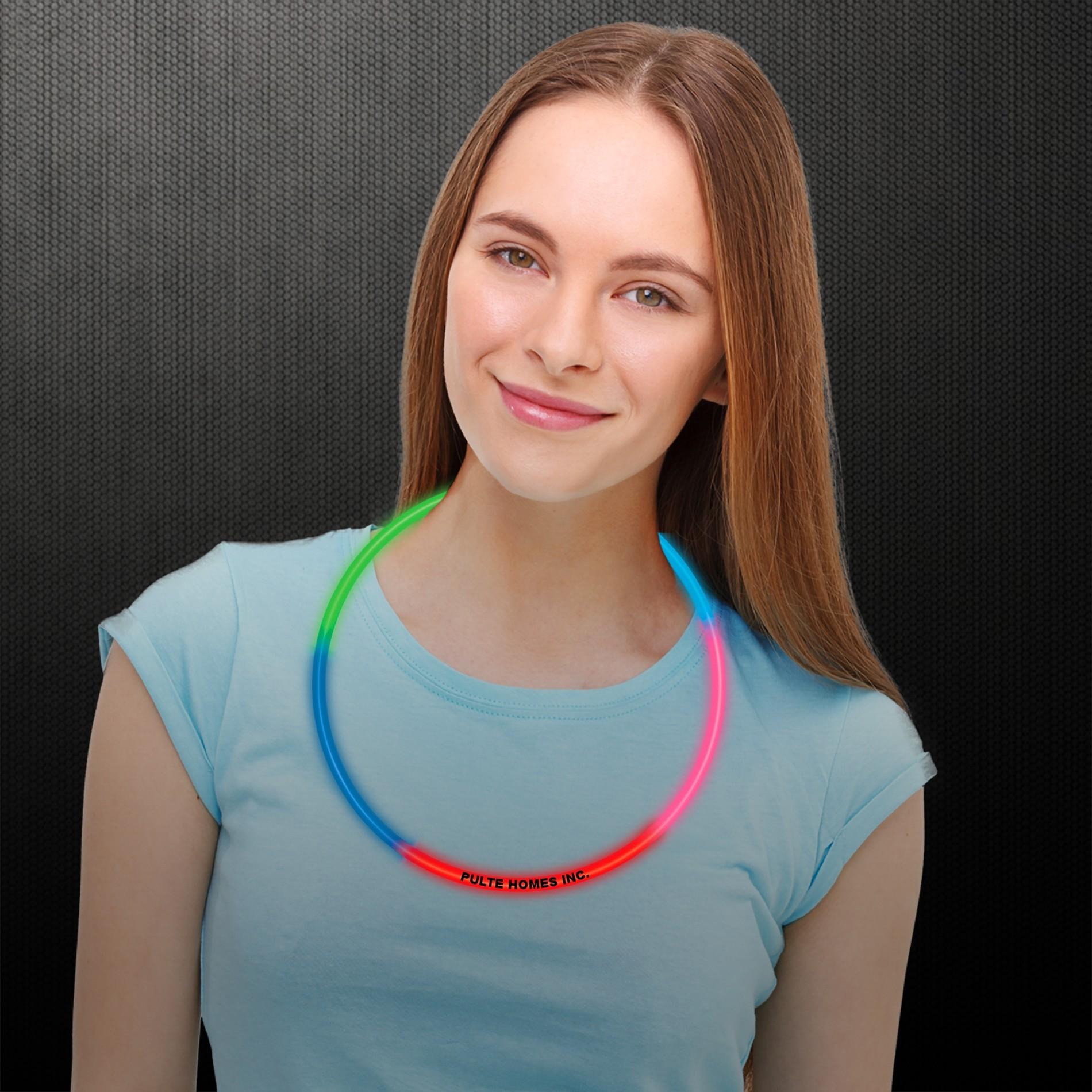 Rainbow Glow Necklaces