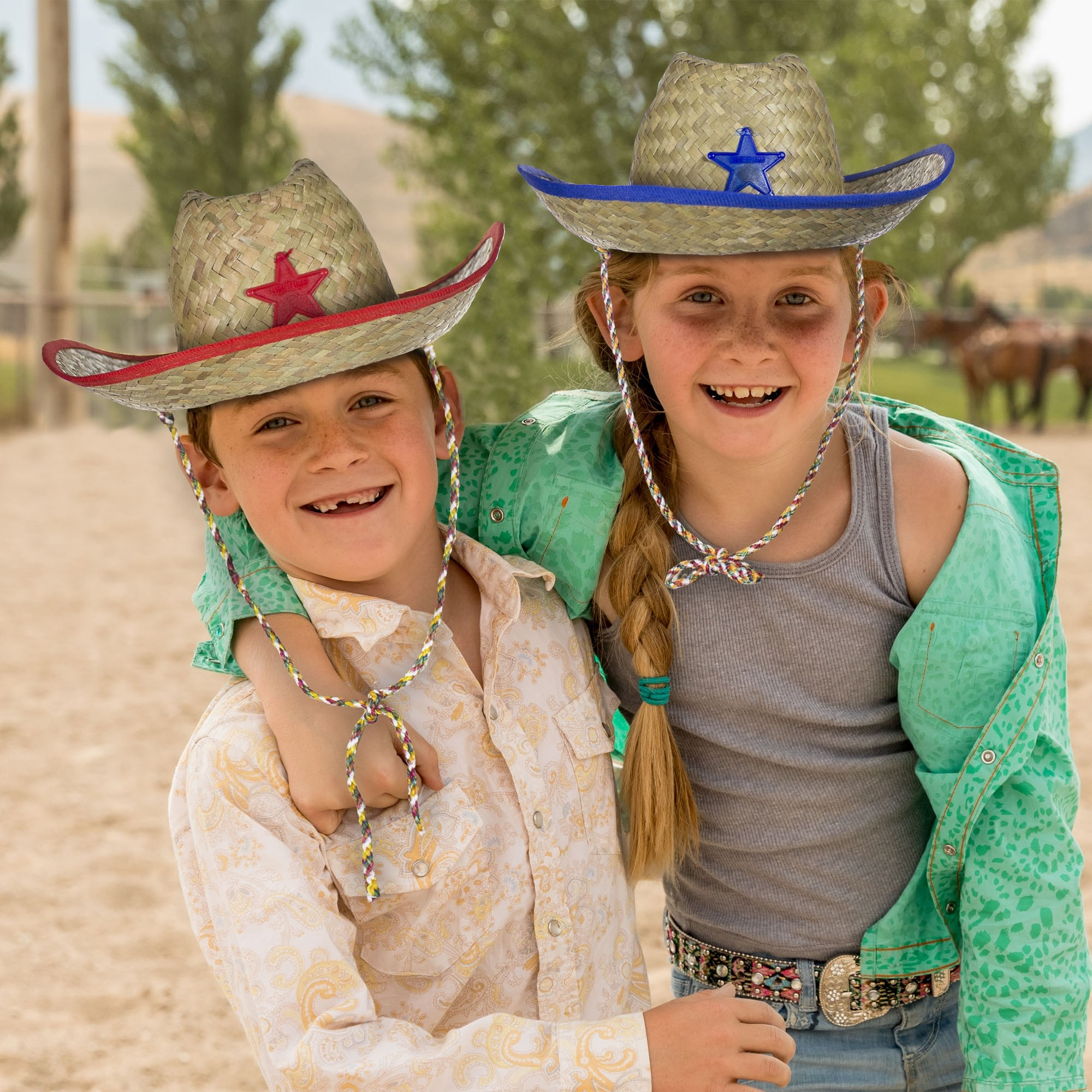 Child's Cowboy Hats (Imprintable Bands Available)
