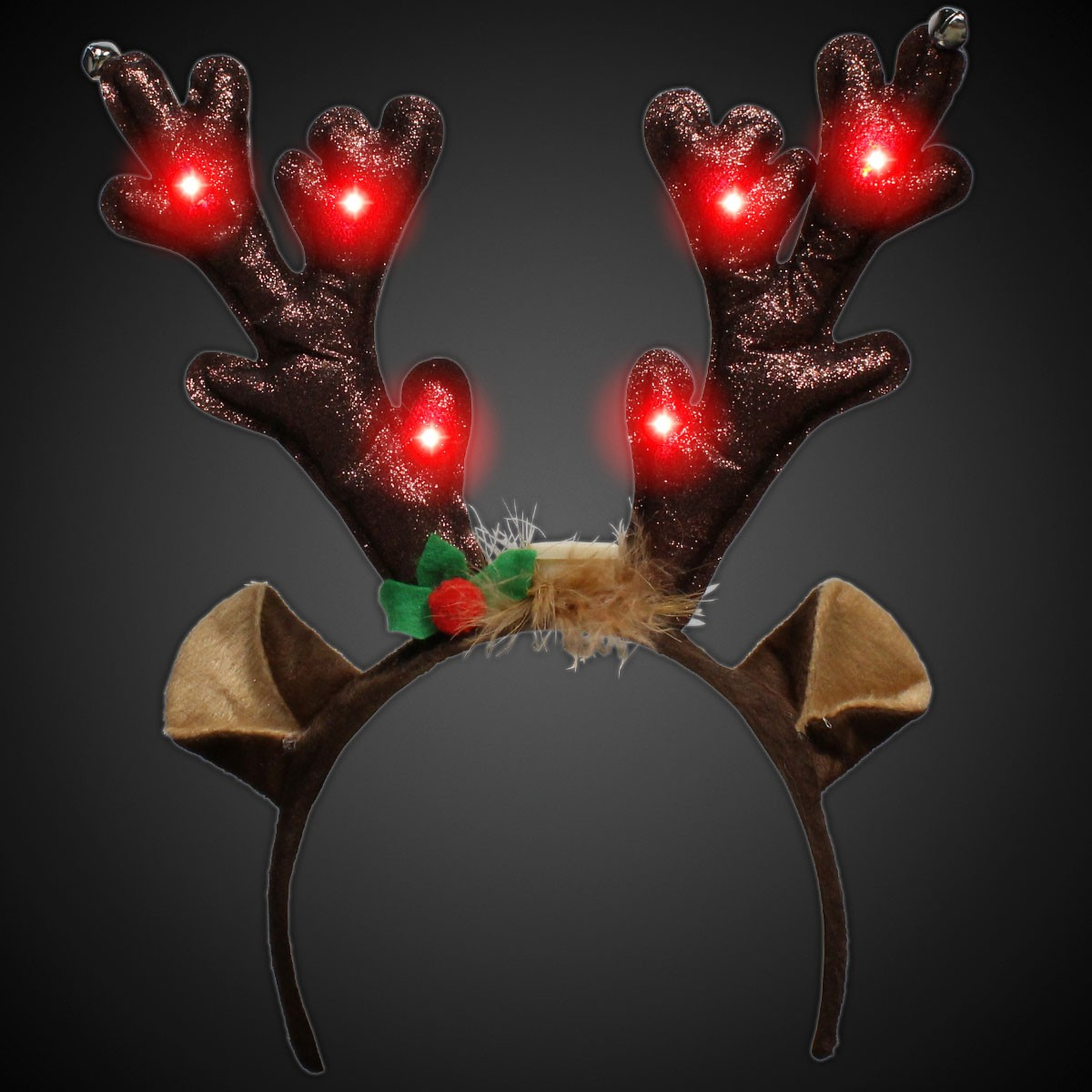 Led Reindeer Antlers Christmas Holidays Amp Events