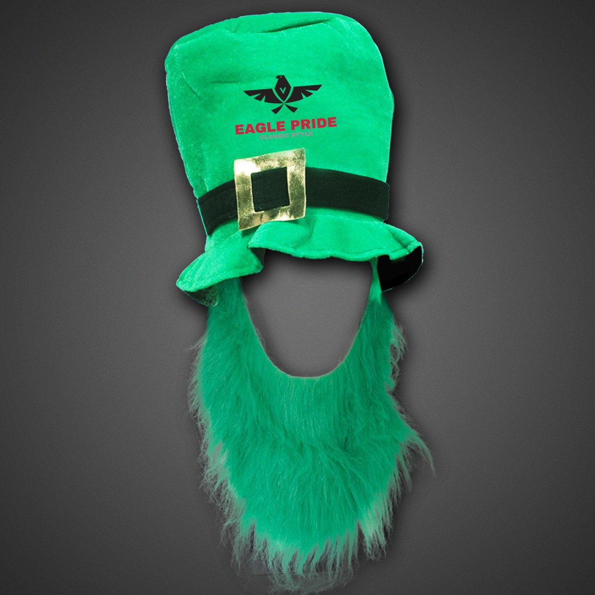 St. Patrick's Top Hat with Green Beard