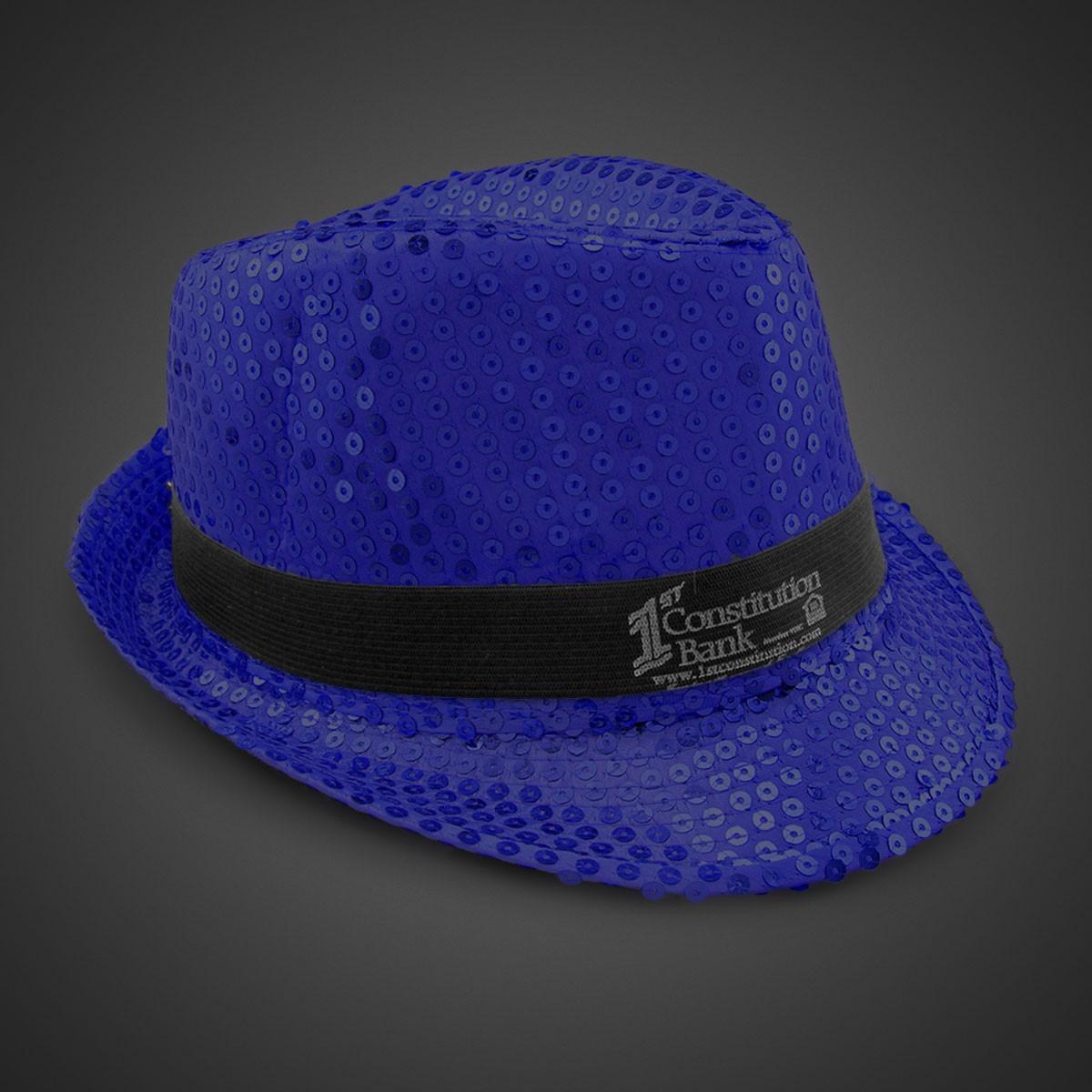 Fedora Dark Grey Borsalino Vintage Men's Hat with Black ...  |Blue Black Band Fedora