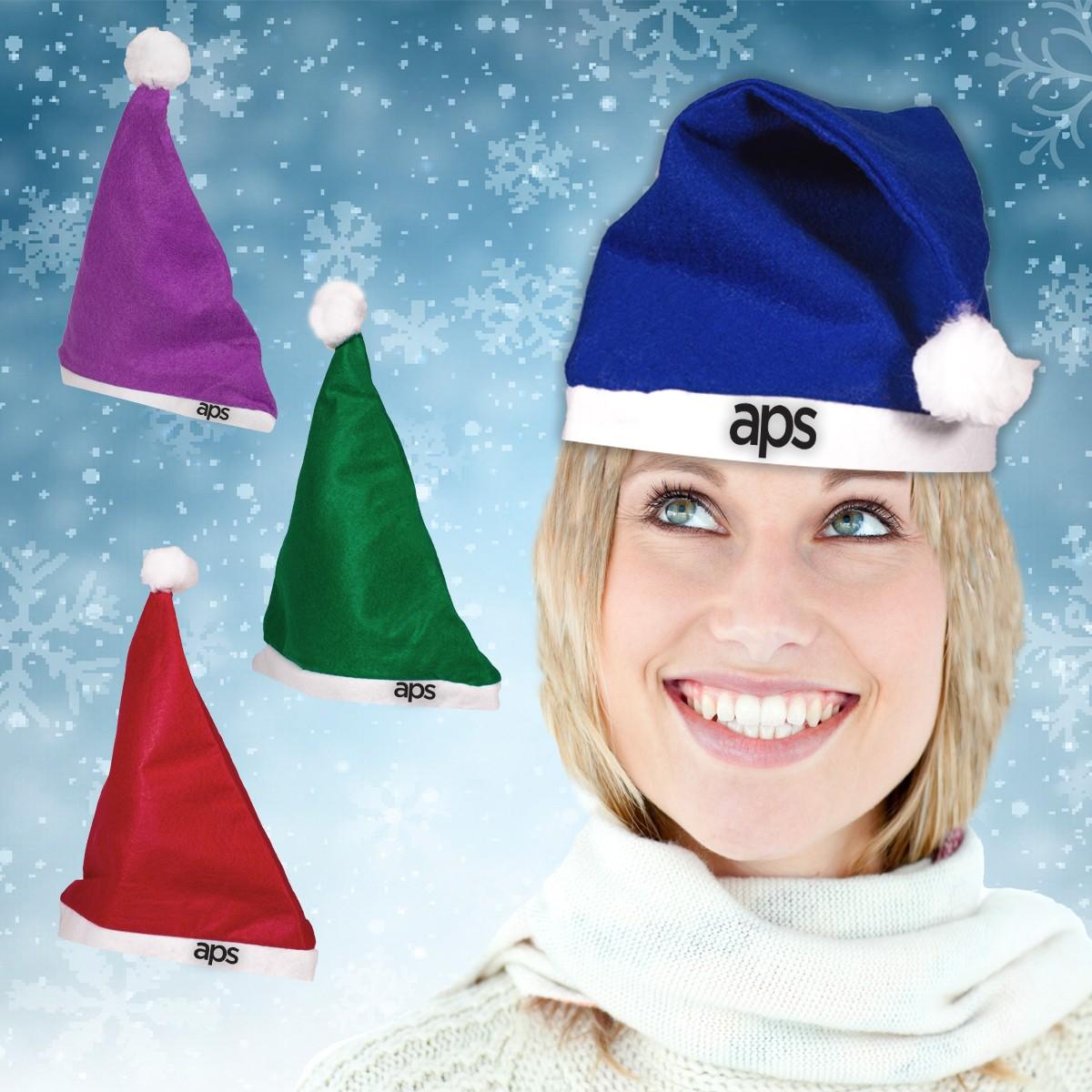 Felt Santa Hats