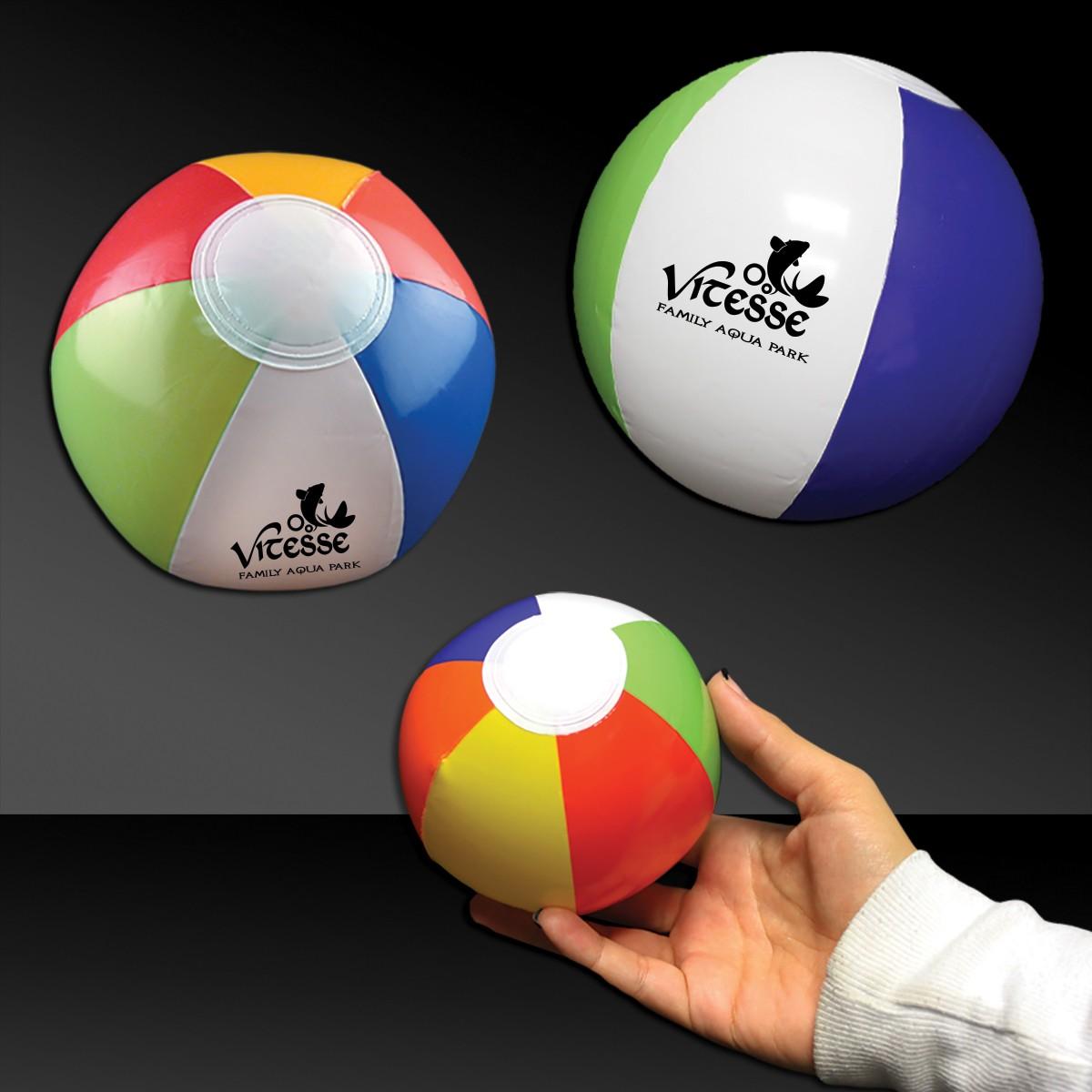 Mini 6 Inch Inflatable Beach Ball