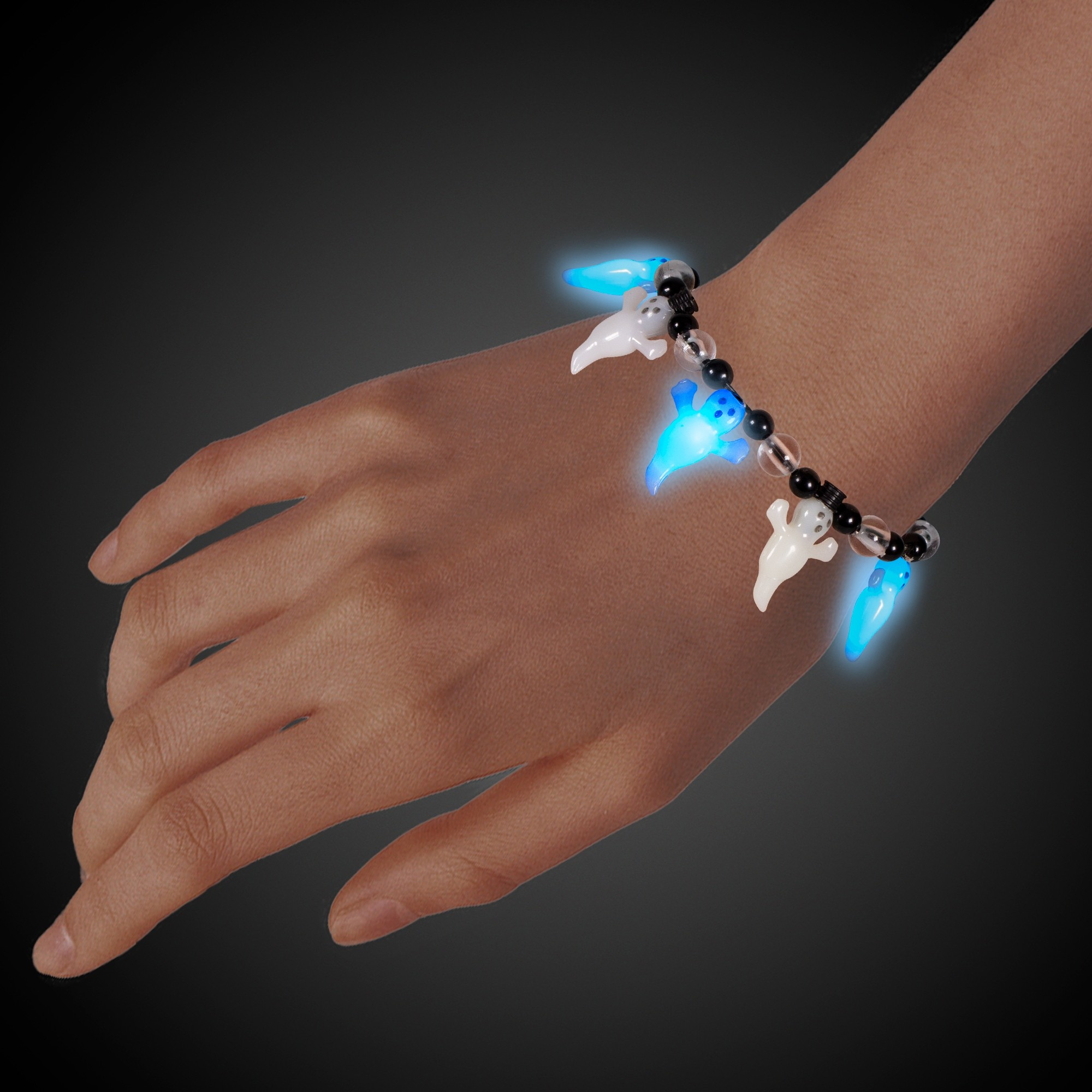 Ghost Bead LED Bracelet