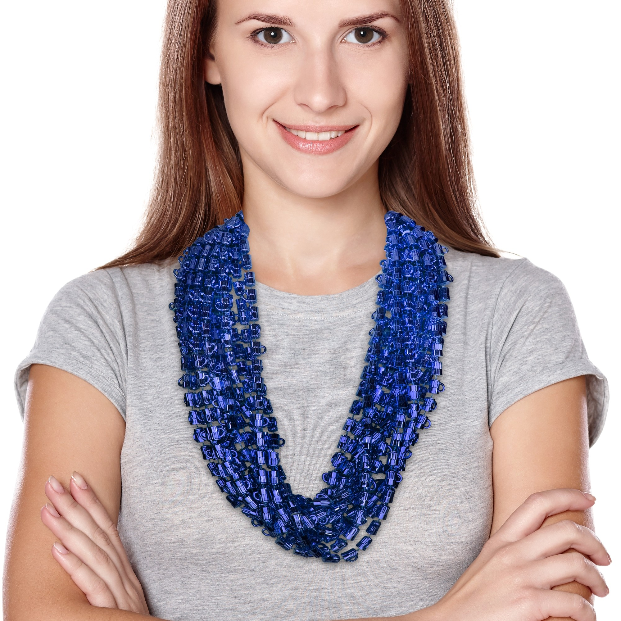 Blue Beer Mug Beads