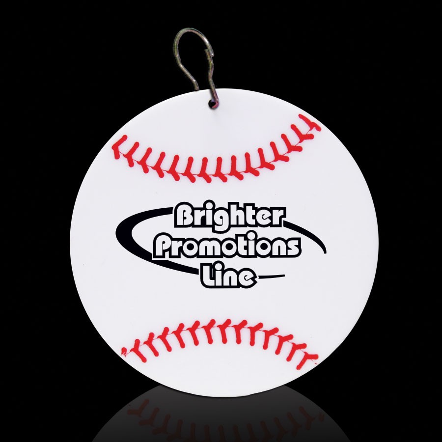 Baseball Plastic Medallion Badges