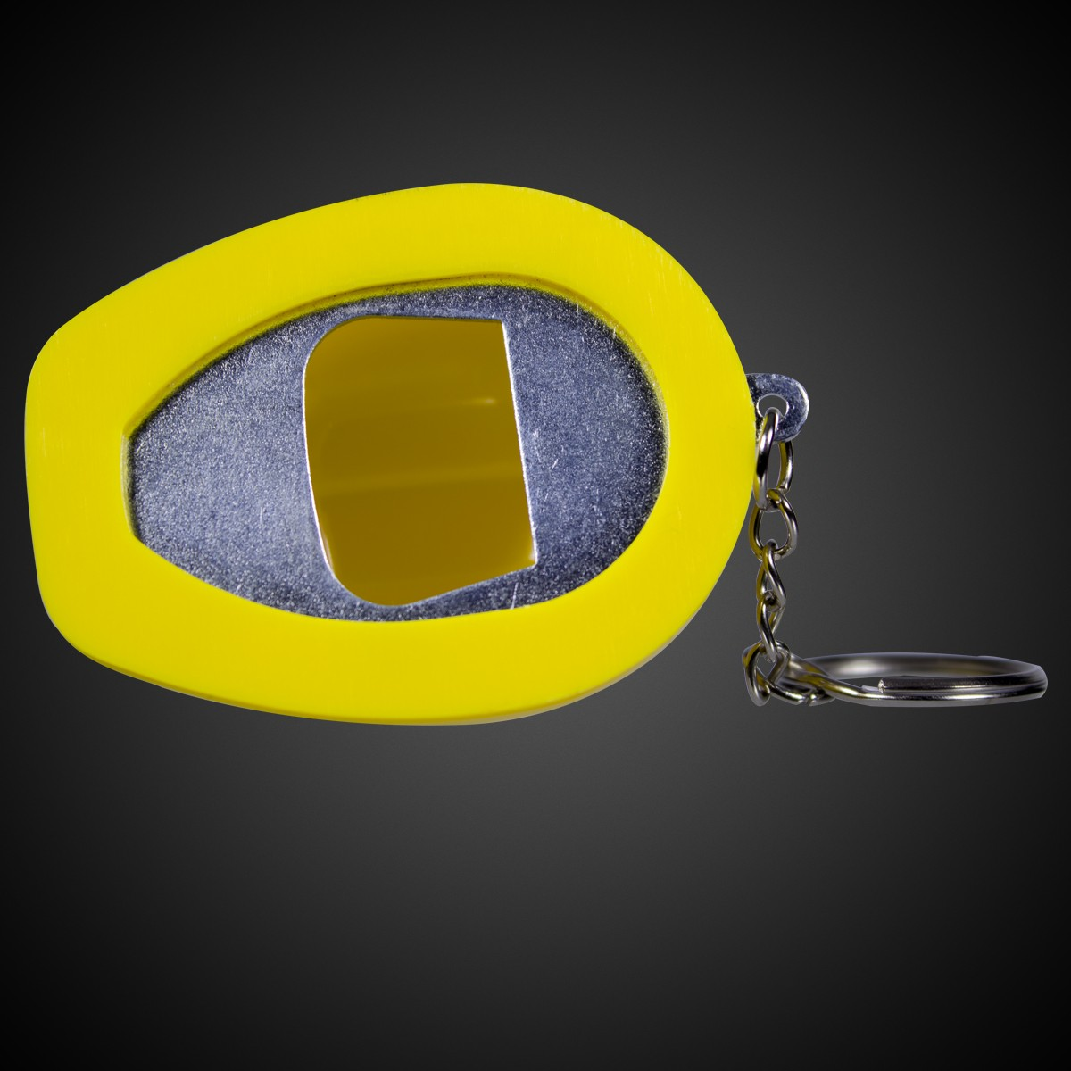 yellow plastic construction hat bottle opener key chains yellow gold shop by color. Black Bedroom Furniture Sets. Home Design Ideas