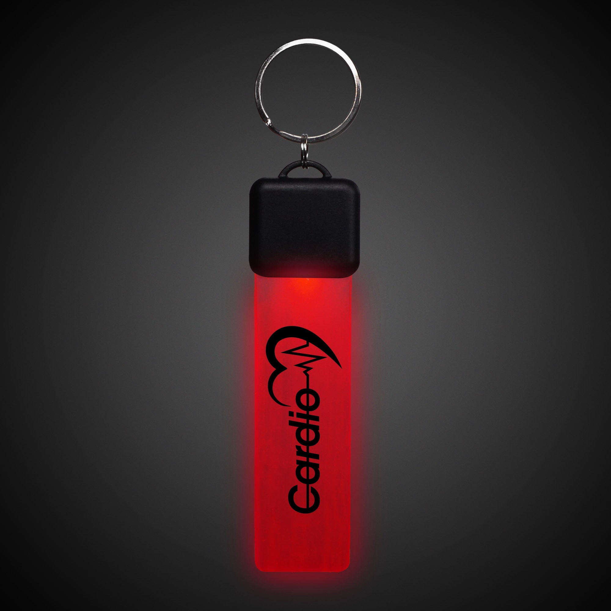 Red LED Key Chain