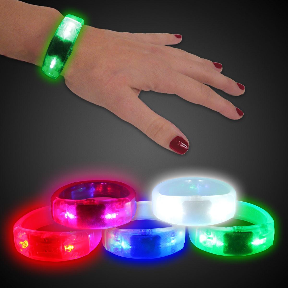 Led Bangle Bracelet Glow And Light Up Products