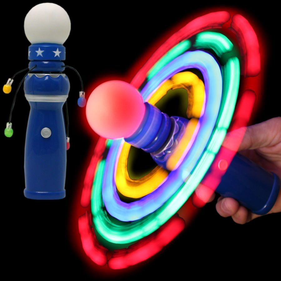 Led galaxy spinner wand 8 for Galaxy wand laser