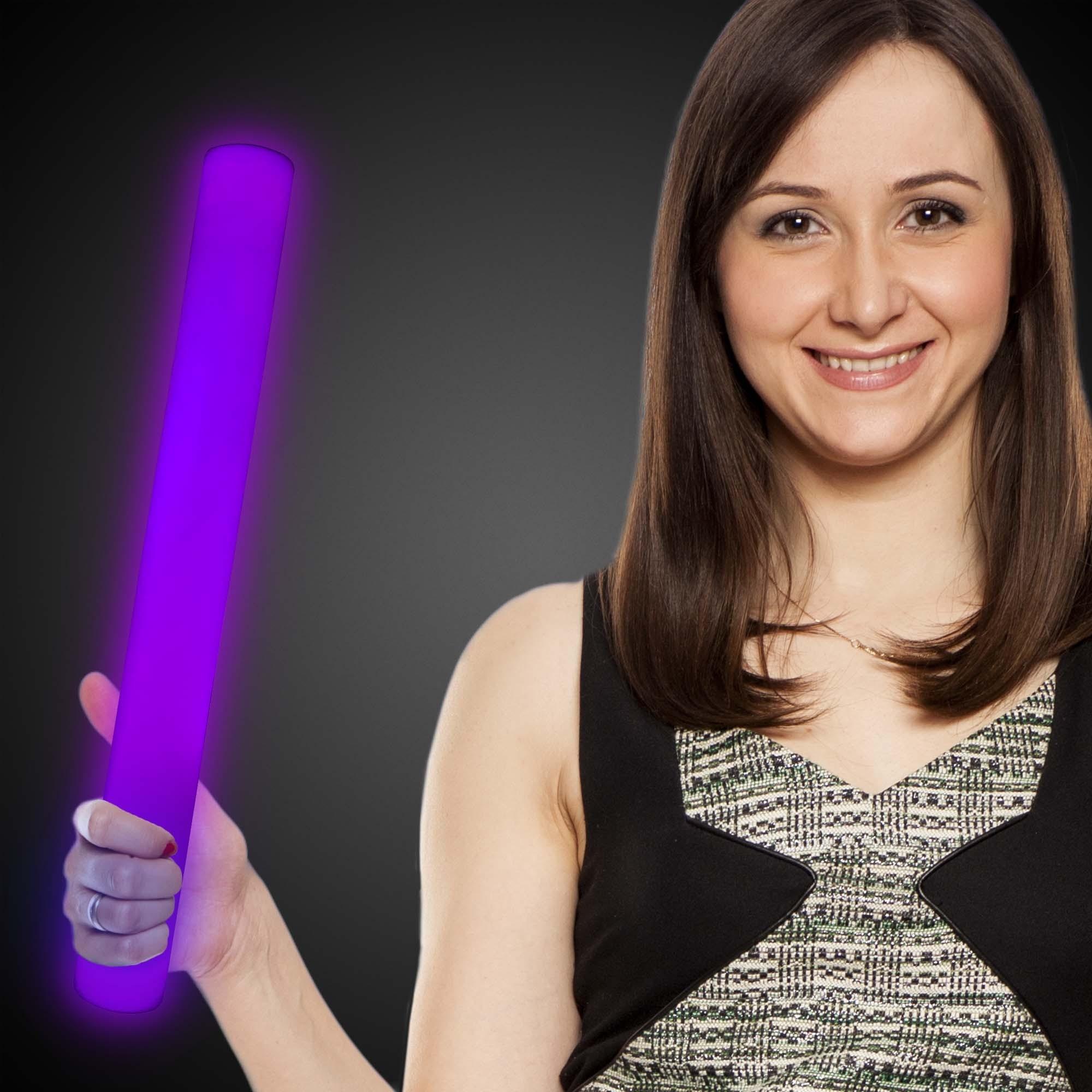 Purple LED 16 Inch Lumiton Batons