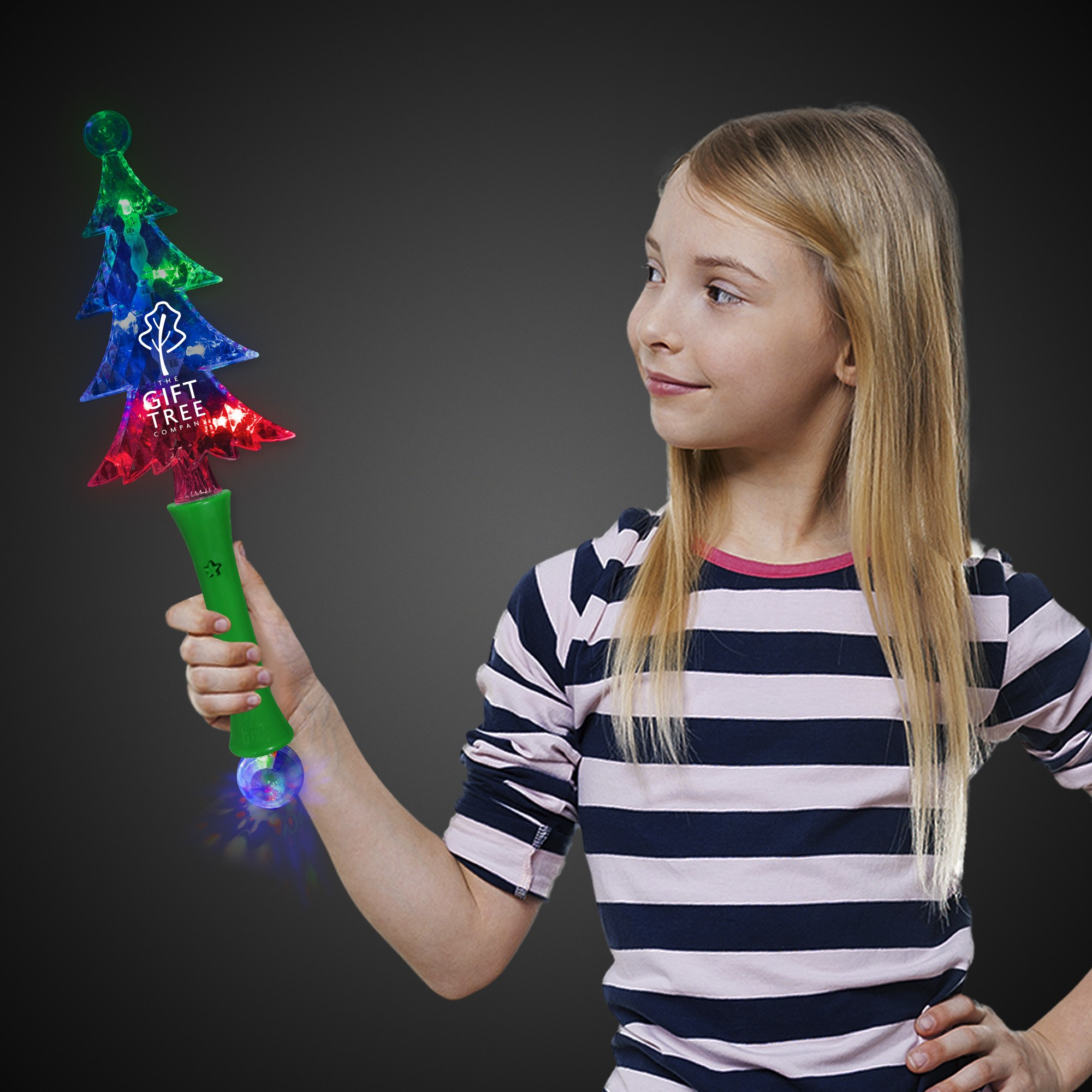LED Christmas Tree Wand - 13""