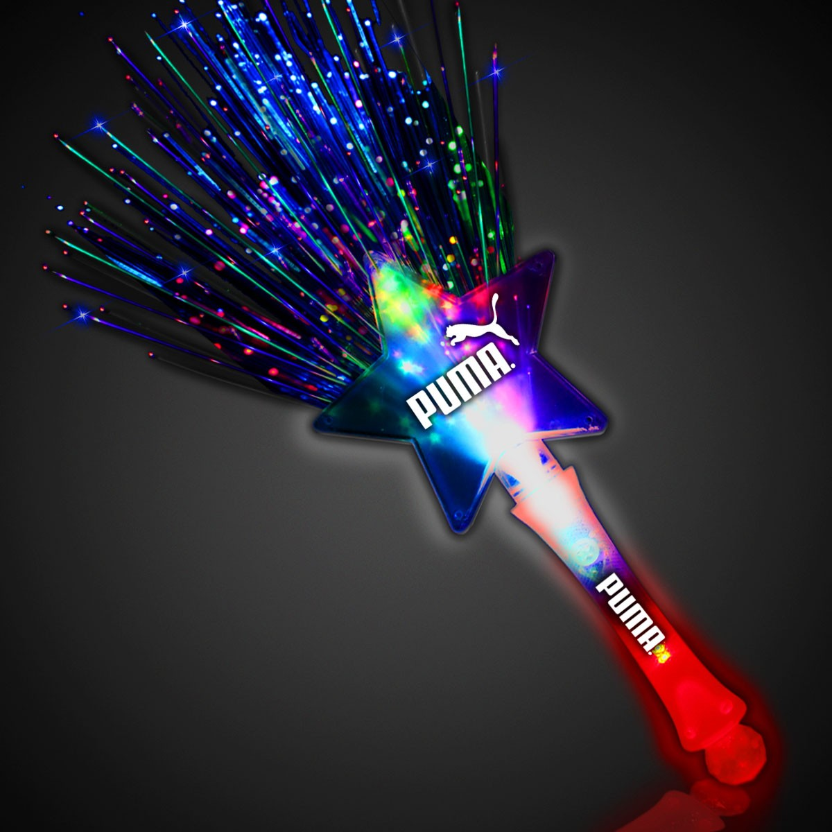 Fiber Optic LED Star Wand