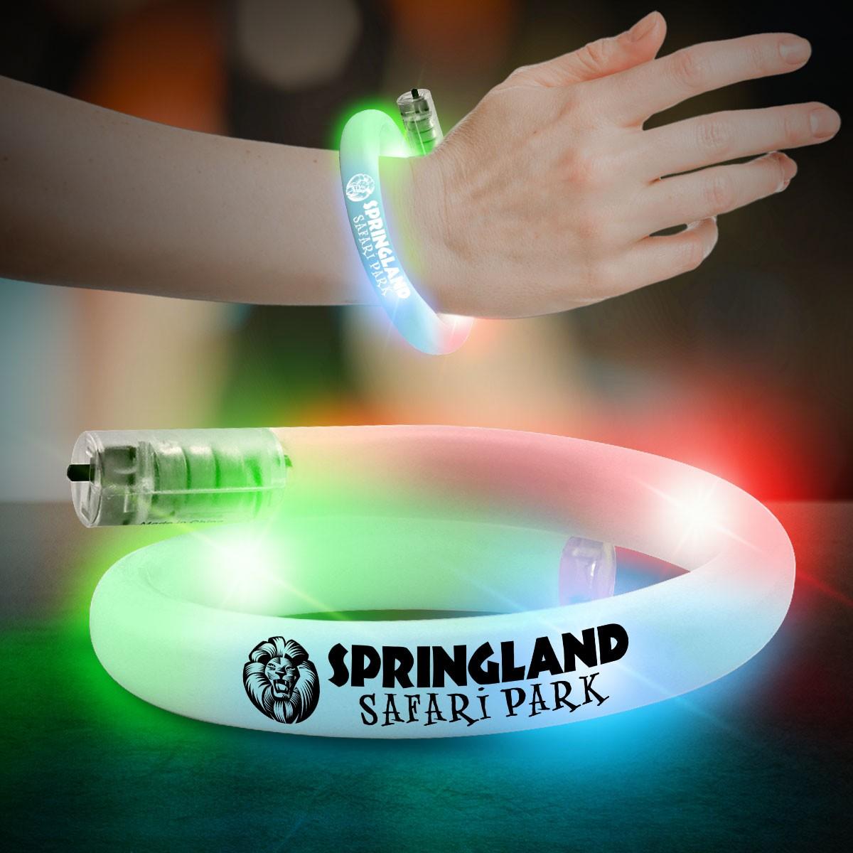 Flashing Tube Bracelet